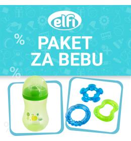Promo paket ELFI - FLAŠICA + GLODALICA - za dječaka