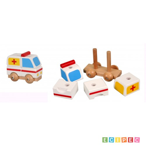 PINO Mini 3D puzzle - Hitna pomoć