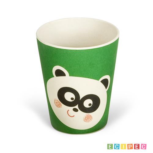 BIGBAMBOO Set za hranjenje od bambusa - PANDA (5 djelova)