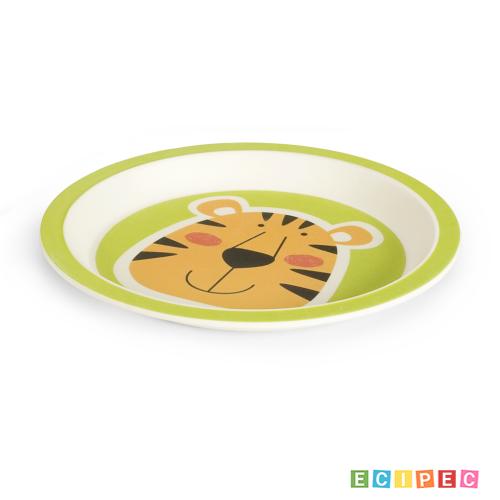 BIGBAMBOO Set za hranjenje od bambusa - TIGAR (5 djelova)
