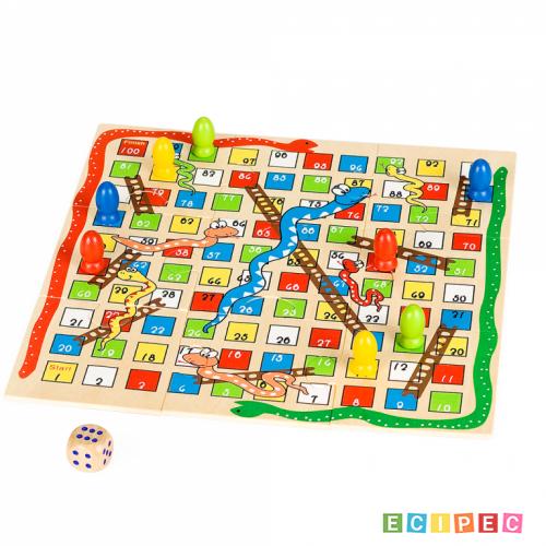 PINO Igra Zmijice i merdevine + Iks-Oks