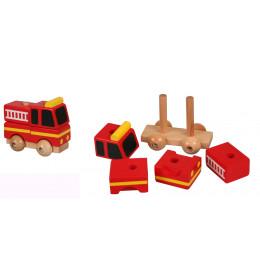 PINO Mini 3D puzzle - Vatrogasac
