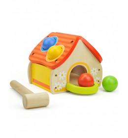 ToP BRIGHT Kućica sa čekićem i lopticama