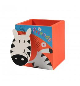 PINO Drvena Kutija za olovke sa držačem poruka
