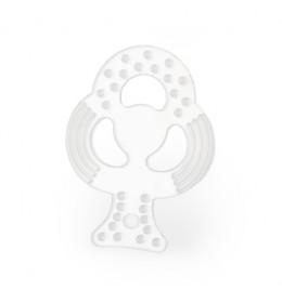 ELFI Silikonska glodalica CLEAR - Detelina