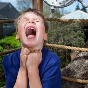 Napadi bijesa kod djece (zbog kupovine)
